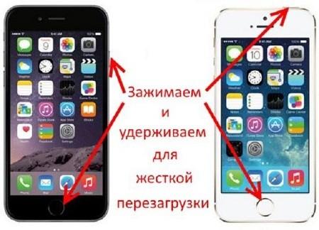 не включается телефон