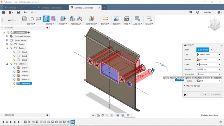 Fusion360 Инструмент 3D-САПР/АСУП/автоматизированного конструирования