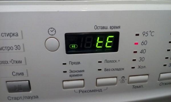 Коды ошибок стиральных машин. Таблицы и видео