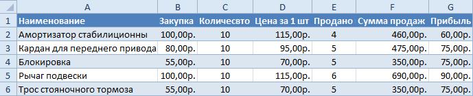 Как копировать таблицу